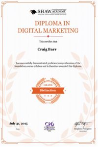 diploma in digital marketing 55 web design edinburgh