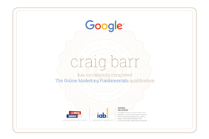 google qualification 55 web design edinburgh